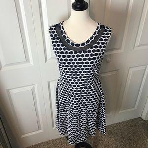 Pixley Navy & White Dress 👗